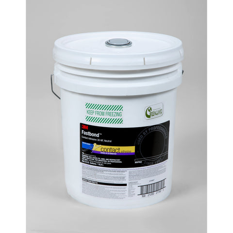 3M Fastbond Contact Adhesive 30NF Neutral, 5 gal Pail