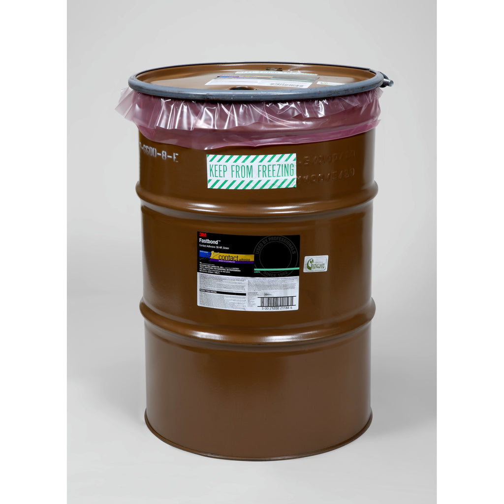 3M Fastbond Contact Adhesive 30NF Green, 55 gal Drum