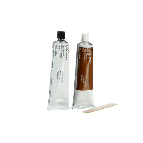 3M Scotch-Weld Epoxy Adhesive 1838L Translucent B/A, 2 oz Tube