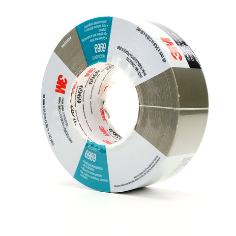 3M Duct Tape 6969 Olive, 48 mm x 54.8 m 10.7 mil, 24 per case In