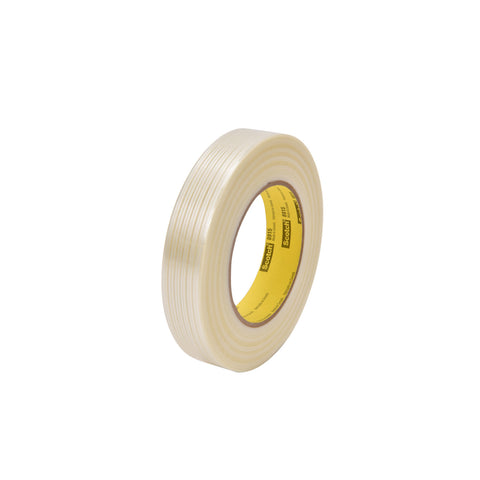 Scotch Filament Tape 8915 Clear, 12 mm x 55 m
