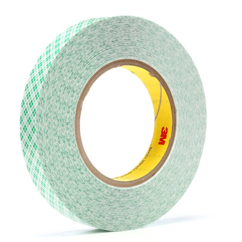 3M Double Coated Film Tape 9589 White, 3/4 in x 36 yd 9.0 mil, 4