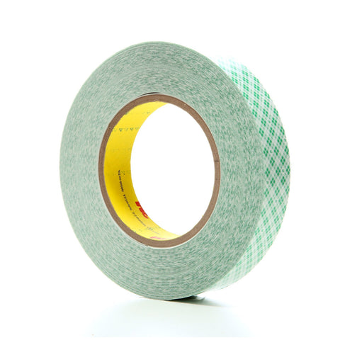 3M Double Coated Film Tape 9589 White, 1 in x 36 yd 9.0 mil, 36