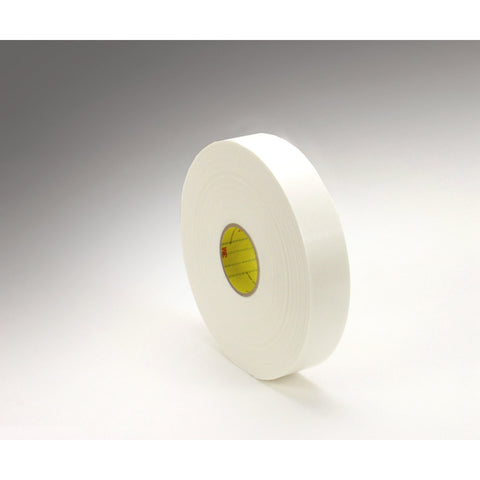 3M Double Coated Polyethylene Foam Tape 4466 White, 1/2 in x 36