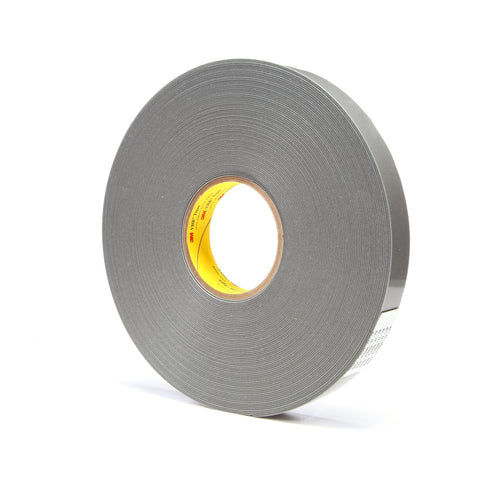 3M VHB Tape 4957F Gray, 1 in x 36 yd 62 mil, 9 per case
