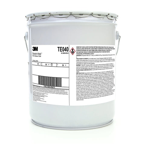 3M Scotch-Weld Polyurethane Reactive TE040 Wht/Off-Wht, 5 gal