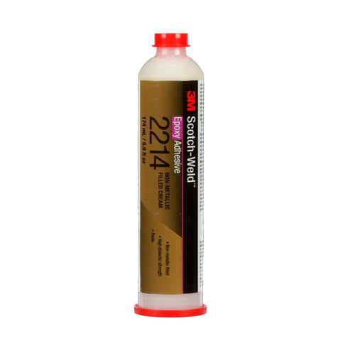 3M Scotch-Weld Epoxy Adhesive 2214 Non-Metallic, 6 oz