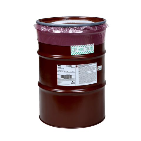3M Fastbond Contact Adhesive 30H Grn, 55 gal Drum w Poly Liner
