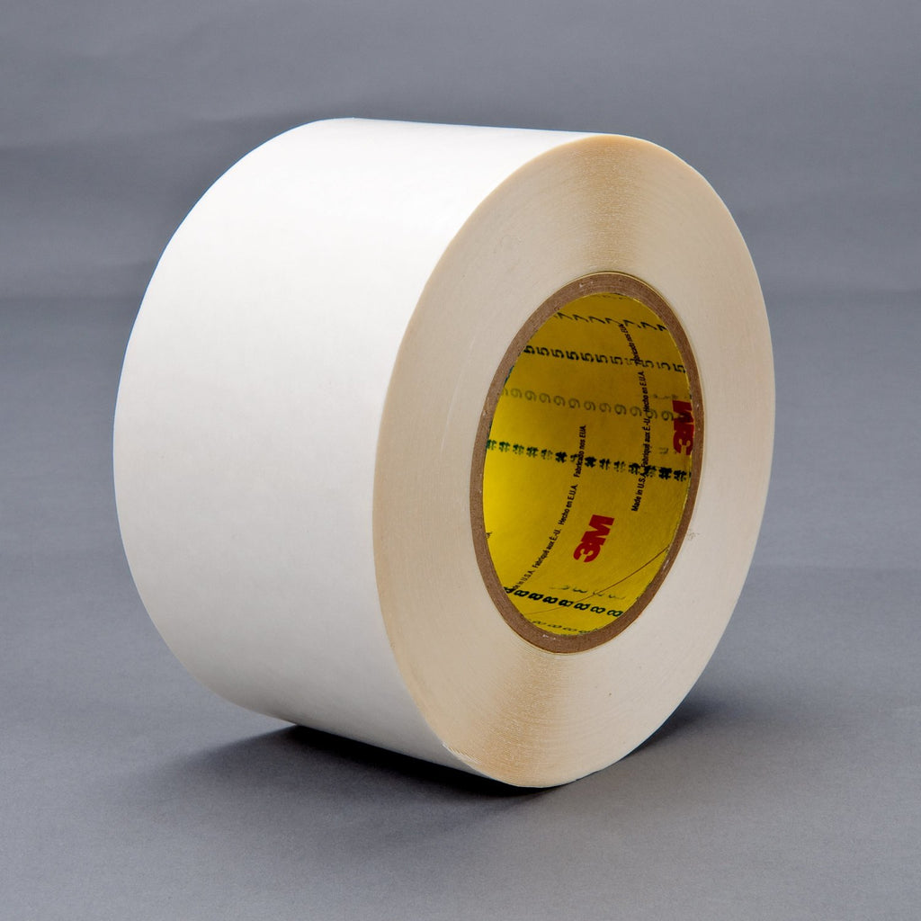 3M Double Coated Tape 9579 White, 3 in x 36 yd 9.0 mil, 12 rolls