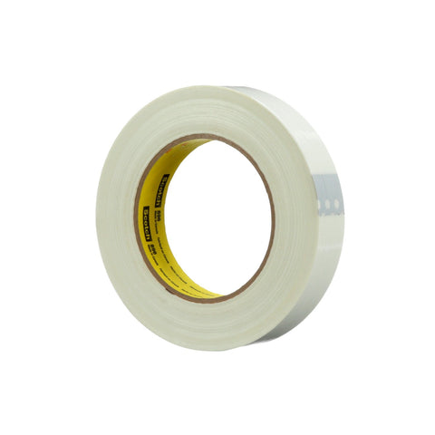 Scotch Filament Tape 896 White, 12 mm x 55 m