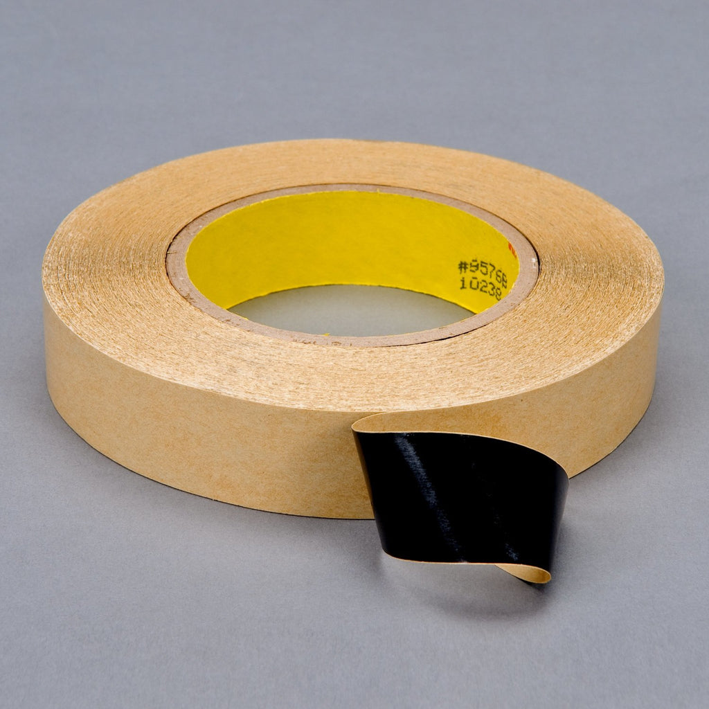 3M Double Coated Tape 9576B Black Kut, 2 in x 60 yd 4.0 mil, 24