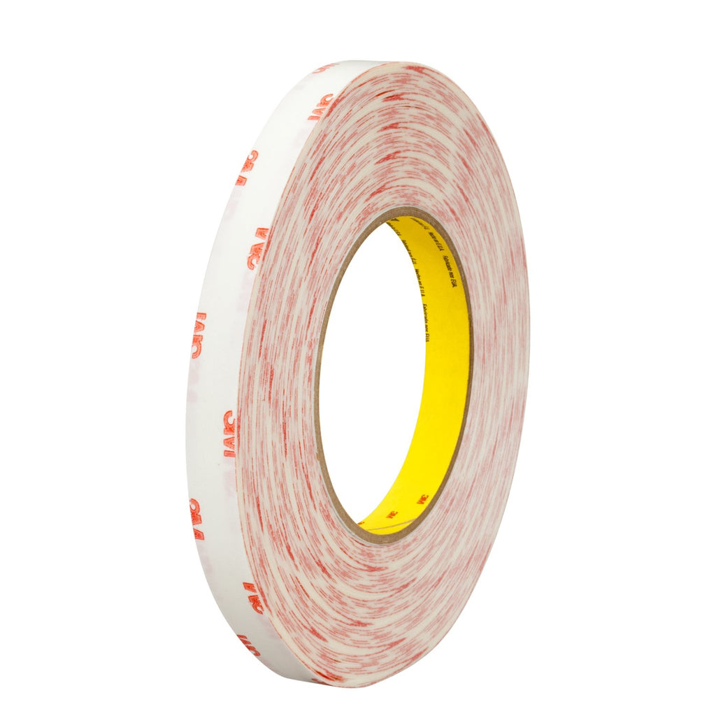 3M Double Coated Tissue Tape 9456 Clear, 3/4 in x 72 yd 5.0 mil,