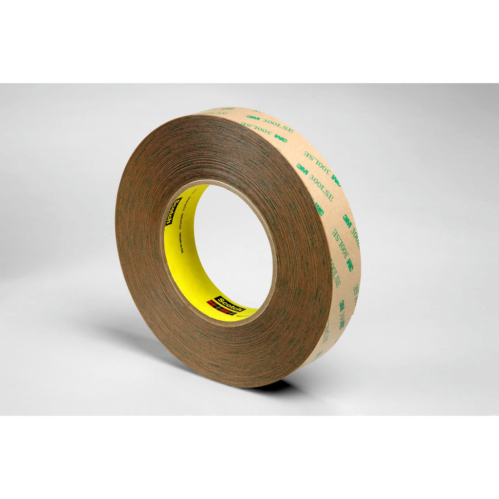 3M Adhesive Transfer Tape 9472LE Clear, 1 in x 60 yd 5.0 mil, 9