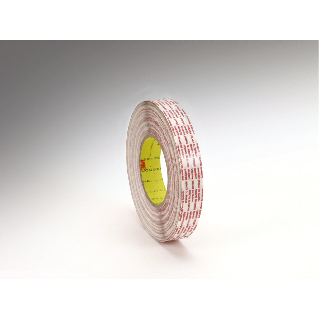3M Double Coated Tape Extended Liner 476XL trans, 3/4 in x 60 yd