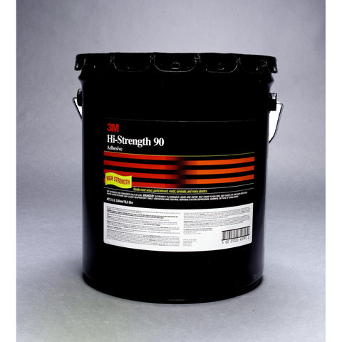 3M Scotch-Weld Hi-Strength 90 Adhesive Clear, 52 gal Open drum