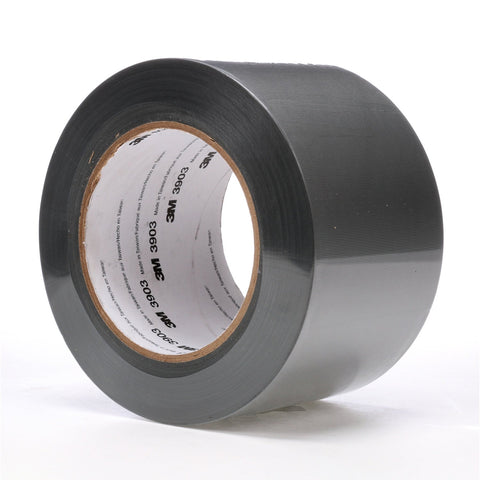 3M Vinyl Duct Tape 3903 Gray, 3 in x 50 yd 6.3 mil, 18 per case
