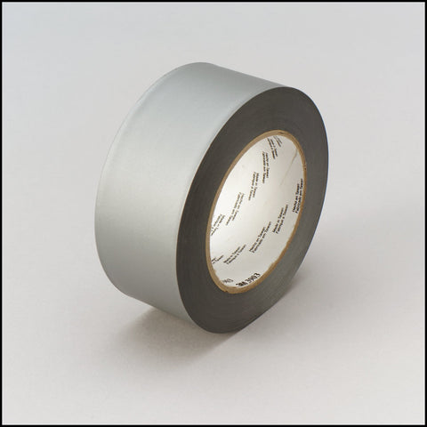 3M Vinyl Duct Tape 3903 Gray, 2 in x 50 yd 6.3 mil, 12 per case