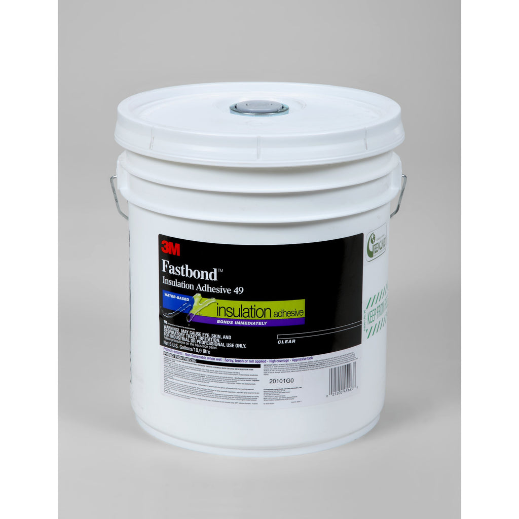 3M Fastbond Insulation Adhesive 49, Poly Tote 255 gal Schut