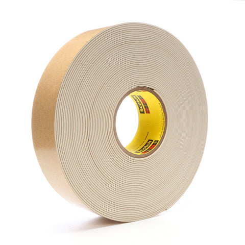 3M Impact Stripping Tape 528 Tan, 2 in x 20 yd 85.0 mil, 6 per c