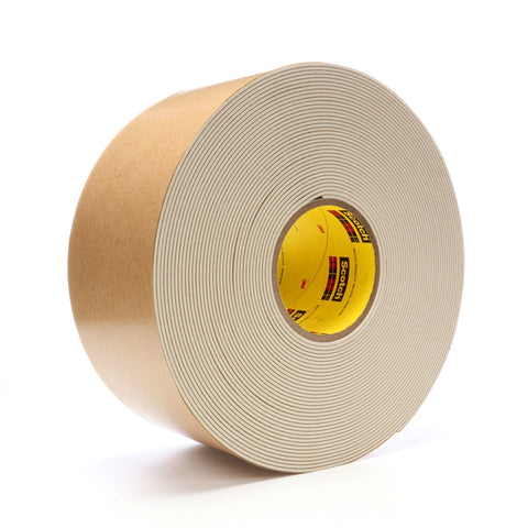 3M Impact Stripping Tape 528 Tan, 4 in x 20 yd 85.0 mil, 2 per c