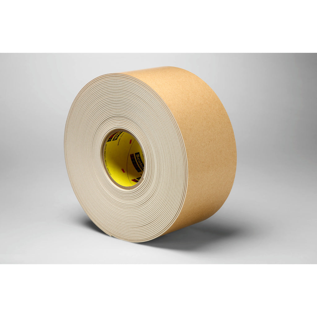3M Impact Stripping Tape 528 Tan, 6 in x 20 yd 85.0 mil, 2 per c