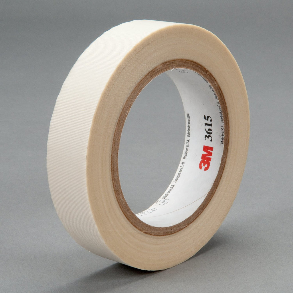 3M General Purpose Glass Cloth Tape 3615 White, 3/4 in x 36 yd 4
