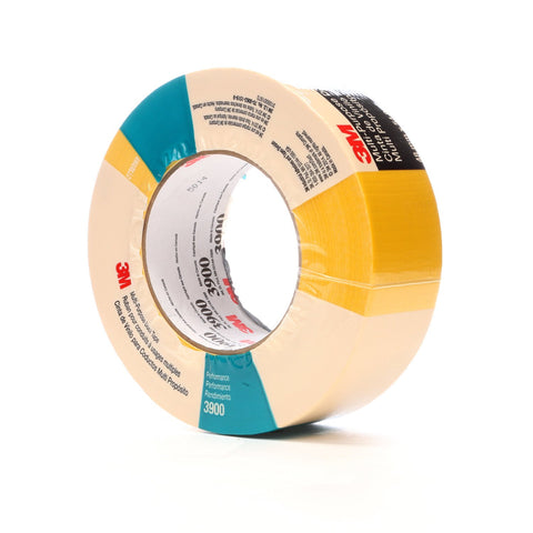 3M Duct Tape 3900 Yellow, 48 mm x 54.8 m 7.7 mil, 24 per case In
