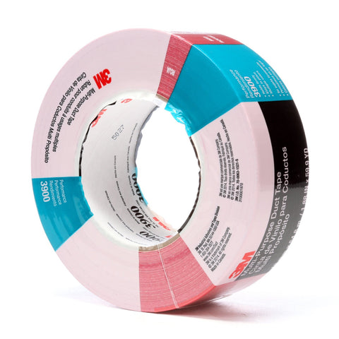 3M Duct Tape 3900 Red, 48 mm x 54.8 m 7.7 mil, 24 per case Indiv