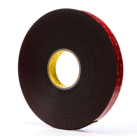 3M VHB Tape 5952 Black, 1 in x 36 yd 45 mil, 9 per case