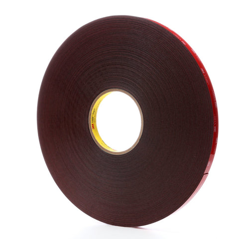 3M VHB Tape 5925 Black, 1/2 in x 72 yd 25 mil, 18 per case