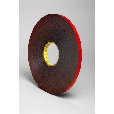 3M VHB Tape 5925 Black, 1/4 in x 36 yd 25 mil, 36 per case