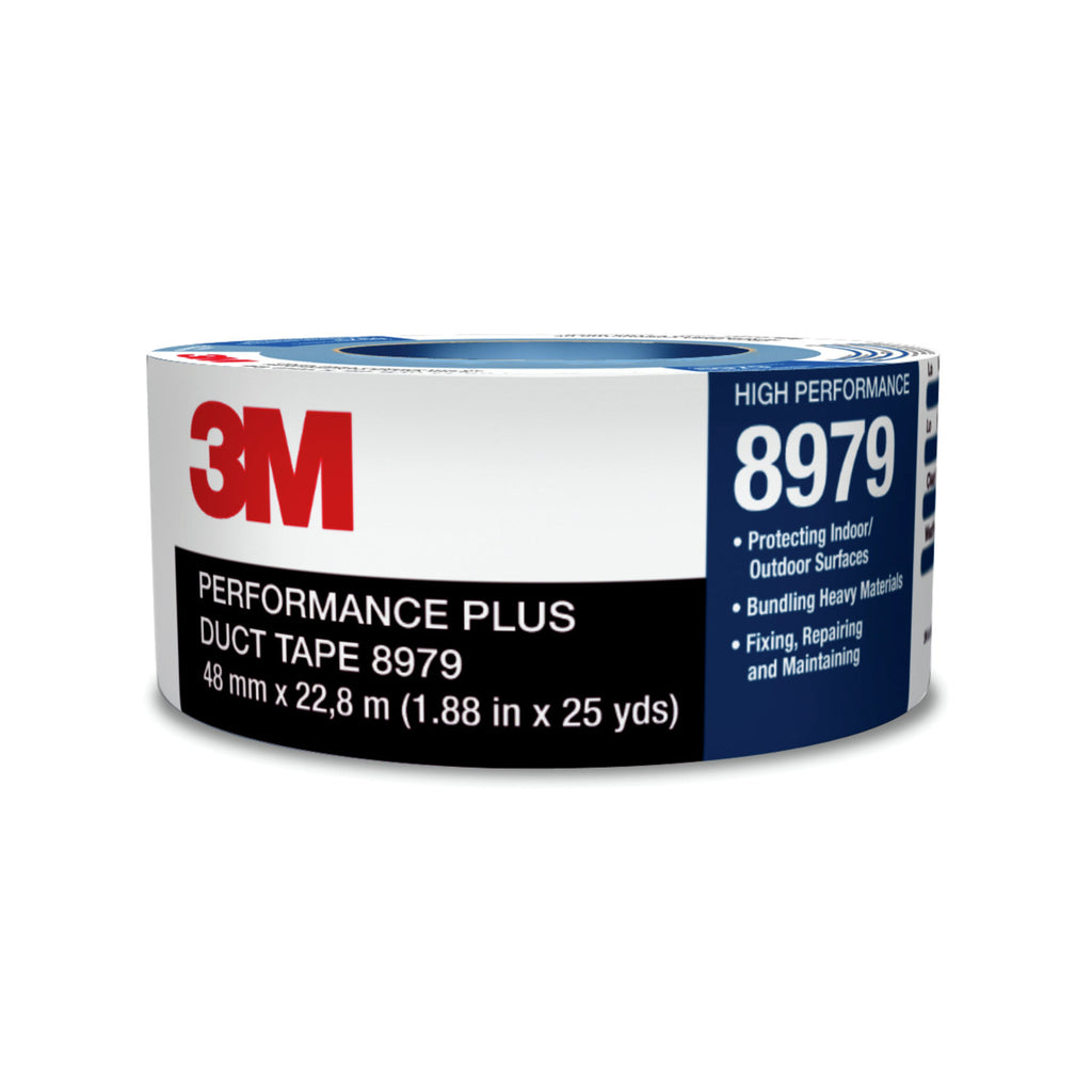 3M Performance Plus Duct Tape 8979 Slate Blue, 72 mm x 54.8 m, 1