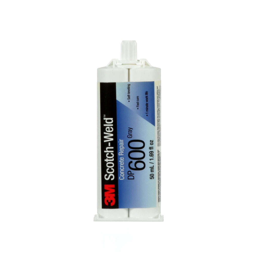 3M Concrete Repair DP600 Gray Self-Leveling, 50 mL Duo-Pak
