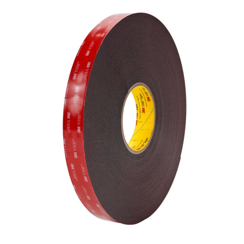 3M VHB Tape 5952 Black, 1/2 in x 36 yd 45 mil, 18 per case