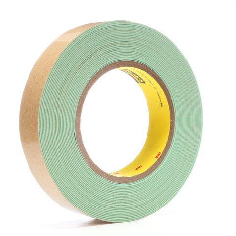 3M Impact Stripping Tape 500 Green, 1 in x 10 yd 33.0 mil, 9 per