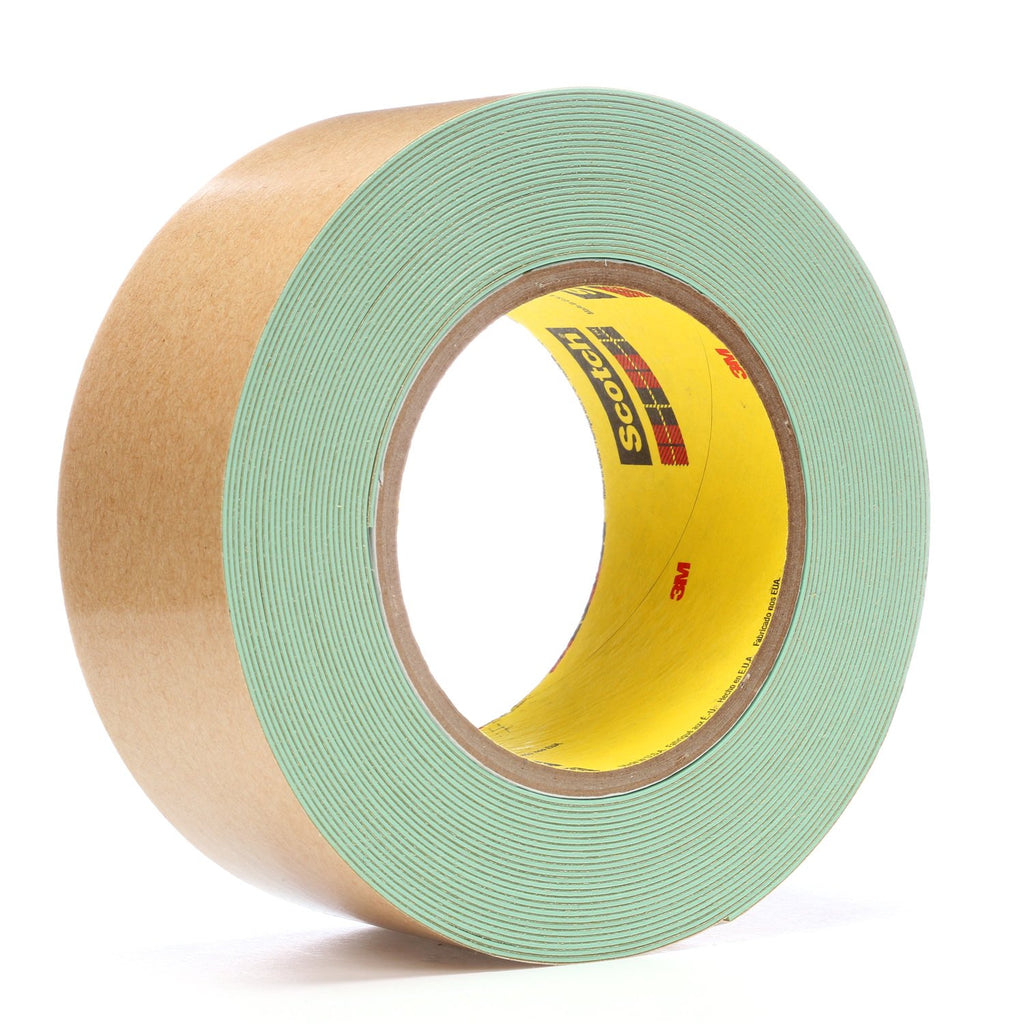 3M Impact Stripping Tape 500 Green, 2 in x 10 yd 33.0 mil, 6 per