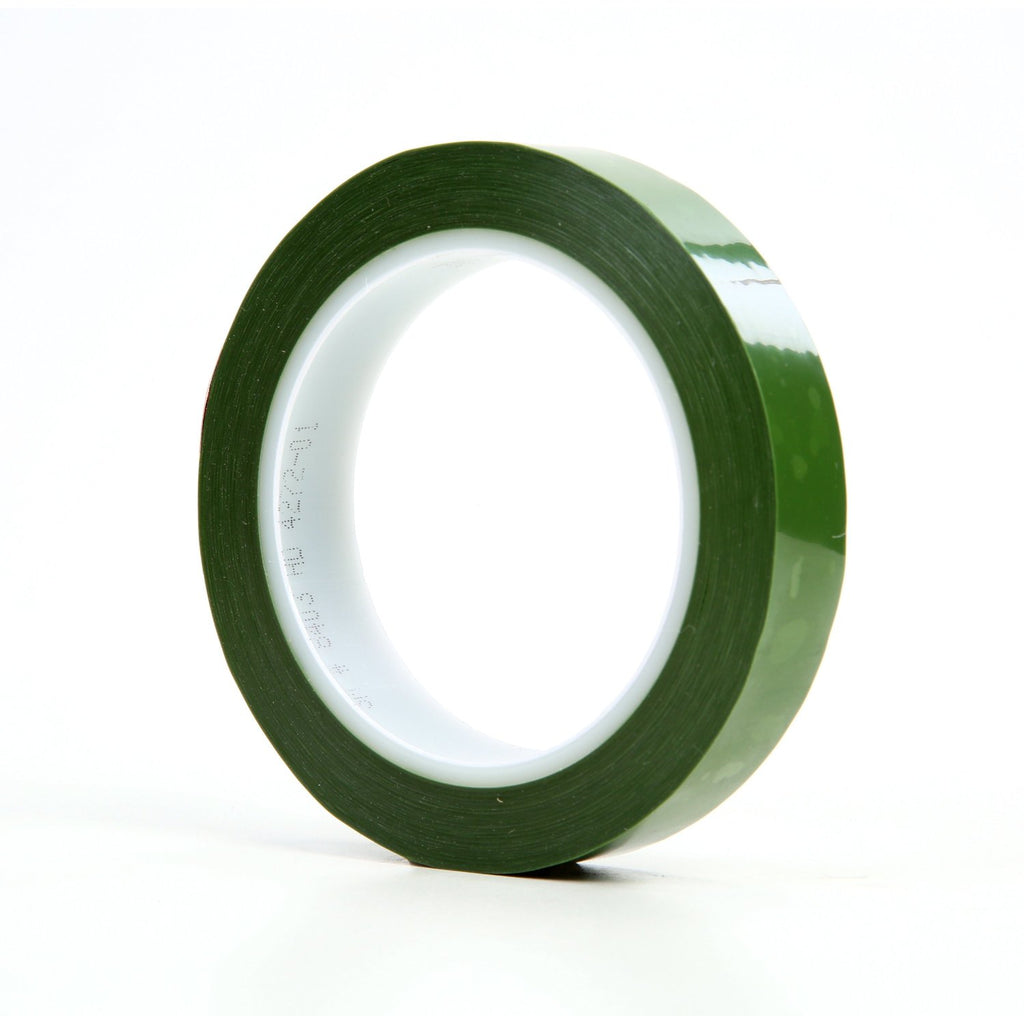 3M Polyester Tape 8403 Green, 3/4 in x 72 yd, 48 per case