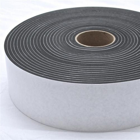 "1015P Closed Cell Medium Density 1/2THK x 1 1/2""WD x 25'LG PLAIN"