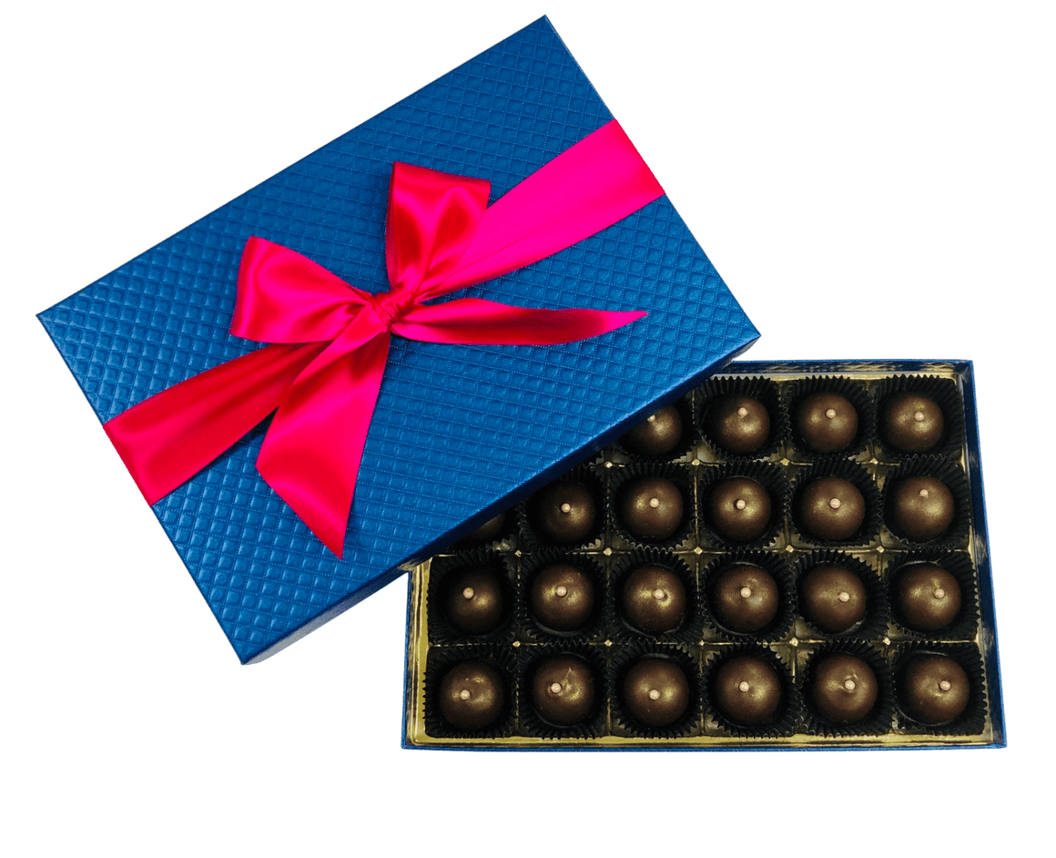 24 Piece Dark Chocolate Champagne Truffles
