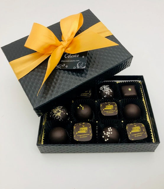 12 Piece Graduation Chocolates