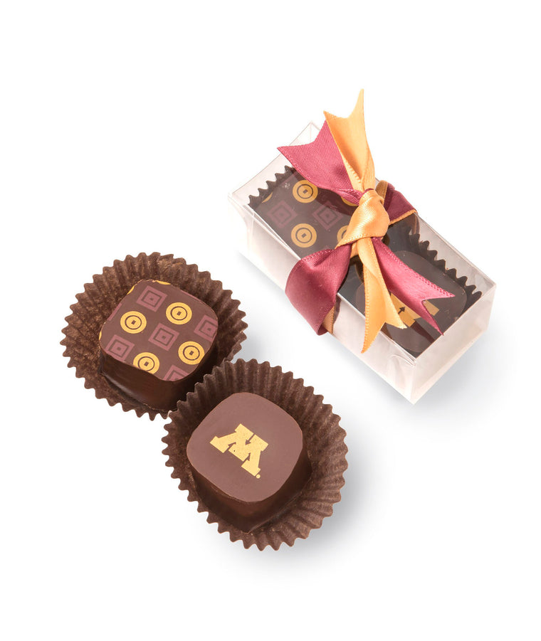 2 Piece University of Minnesota Chocolates