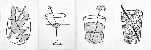 Michael Dopp - Set of Marfa Cocktails