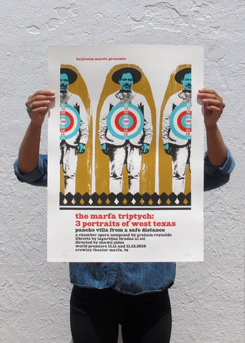 Pancho Villa From a Safe Distance Poster