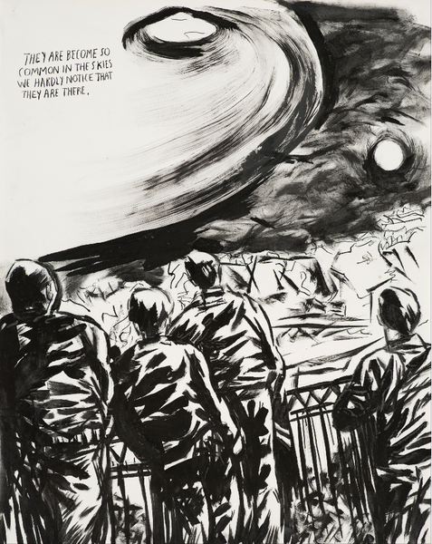 Raymond Pettibon - No Title (They Are Become)