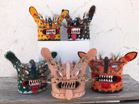 Carla Fernandez and Don Tomas Nájera — Tecuán masks