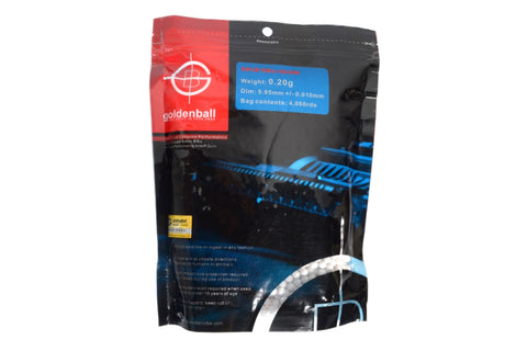 GoldenBall 0.20g MaxSlick 4000CT Bag (WHITE)