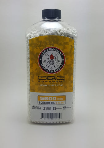 G&G Perfect 0.25g BB 5600CT Bottle