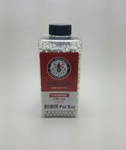G&G Perfect 0.20g BB 2700CT Bottle
