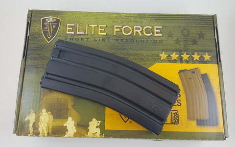 Elite Force 140CT Universal M4/M16 Airsoft Midcap Magazine (Black)