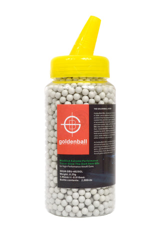 GoldenBall 0.25g MaxSlick Tracer BB 2000CT Bottle